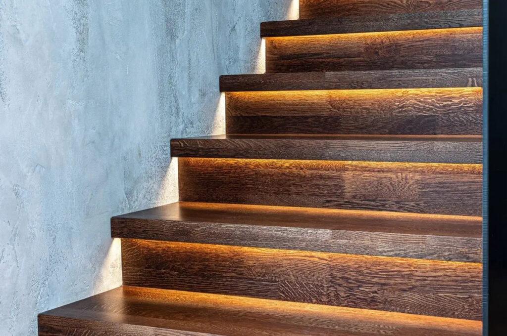 Подсветка мебели<br /> и лестниц